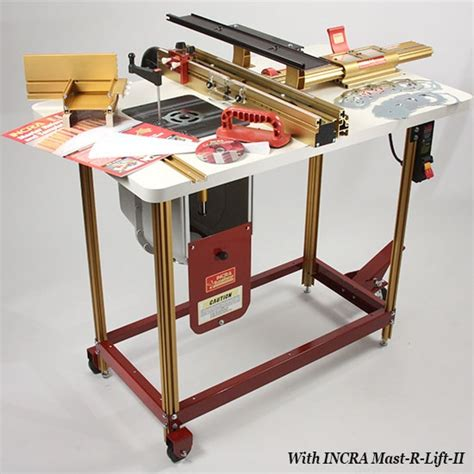 incra router fence table combo   works
