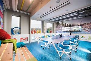 SPA Theme As Inspiration For The Energetic Google Offices