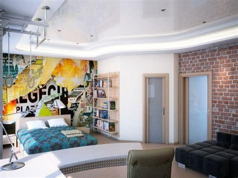 Wandgestaltung Ideen Jugendzimmer