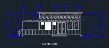 cabin elevation  dwg design plan  autocad designs cad