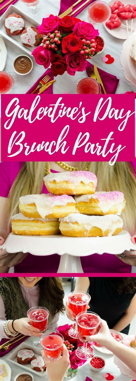 How to Throw A Galentine's Day Party | Galentines ...