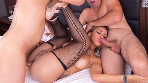 Hot Shemale Threesome Creampie Porno Movies Watch