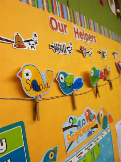 best preschools quot birds on a wire quot helper chart for preschool so at 867