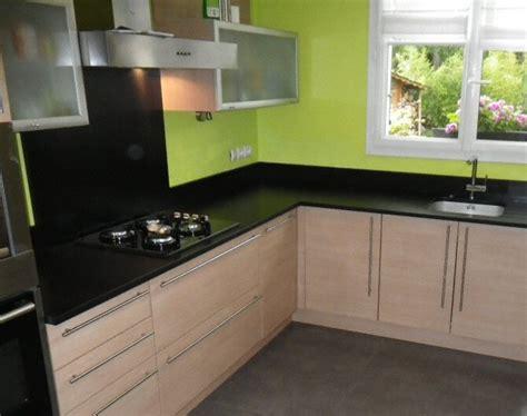 plan de cuisine moderne ophrey com cuisine moderne avec plan de travail en bois