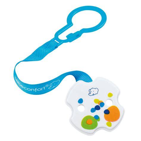 attache siege bebe attache sucette anneau clip bleu violet de bébé confort