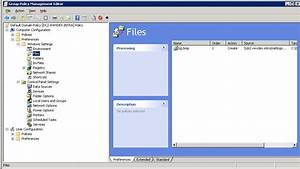 Use Group Policy to have a local file resource