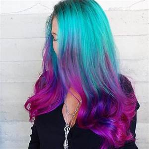 QuotMermaid Hairquot Trend Has Women Dyeing Hair Into Sea