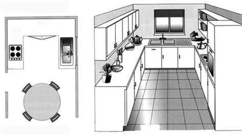 cuisine sur plan dessiner plan cuisine gratuit