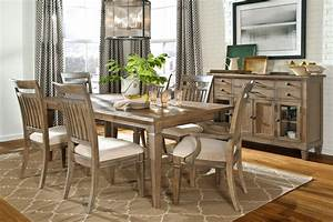 Gavin Rustic Formal Dining Room Set - Fine Dining Furniture