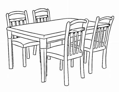 Coloring Table Dining Pages Cozy Dogs Dinner