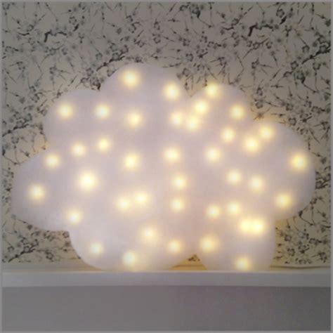 tuto diy deco chambre denfant  bebe nuage lumineux