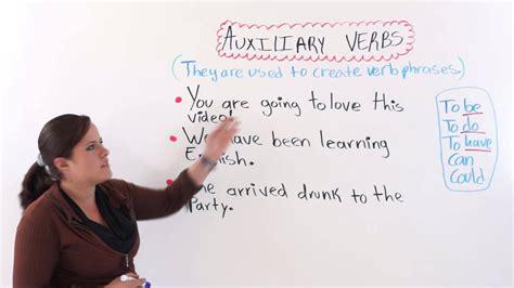 english grammar auxiliary verbs youtube