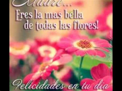 Feliz Dia Mami Te Quiero Mucho wmv YouTube