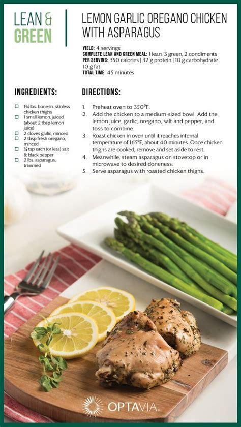 pin  optavia   optavia lean  green recipes