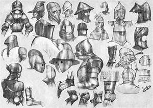 Medieval helmets and articulated joints (2) by StarDlx1984 ...