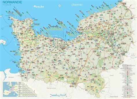 Carte Haute Normandie by Carte De La Normandie Plusieurs Cartes De La R 233 Gion
