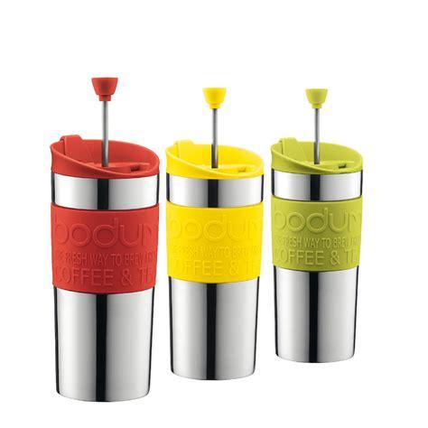 It makes a damn fine cup of coffee. DesignApplause | Travel press coffee maker. Bodum.