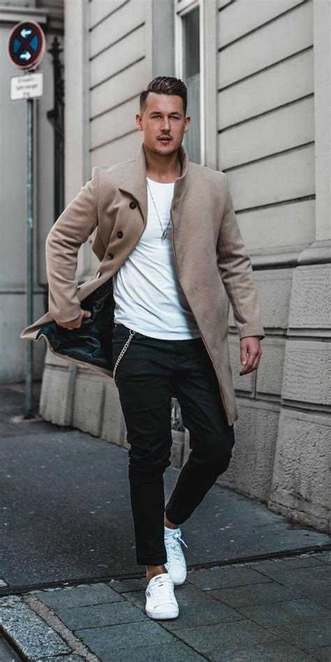Black Jeans Outfits For Men Street Style