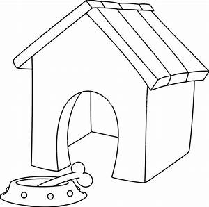Free Coloring Pages For Kids Part 74 Dog House Coloring ...