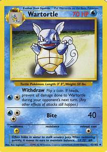 Wartortle (Base Set 42) - Bulbapedia, the community-driven ...