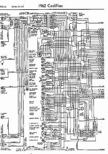 Wiring Diagram For 1962 Cadillac 60 And 62 Series Part 1