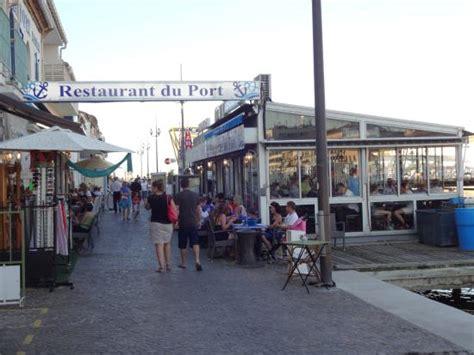 restaurant du port picture of restaurant du port le