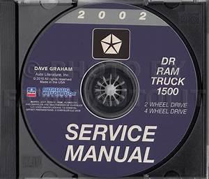2002 Dodge Ram 1500 Pickup Truck Original Owner U0026 39 S Manual