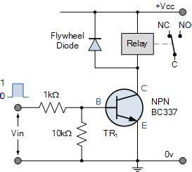 Relay Switch Circuit Switching
