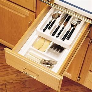 Drawer Organizers - Rev-A-Shelf 2-Tier Insert Cutlery