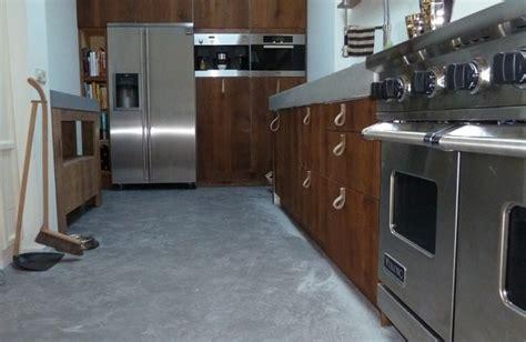 Betonnen Gietvloer Keuken by Betonnen Gietvloer Keuken