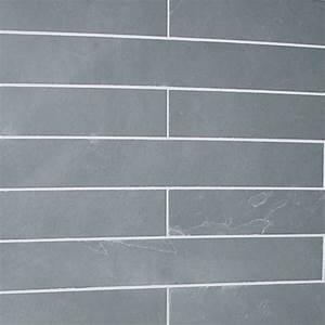 carrelage ardoise cuisine bricoleur meuble salle de bain With carrelage gris couleur mur 1 dalles carrelage ardoise grise 60x14 indoor by capri