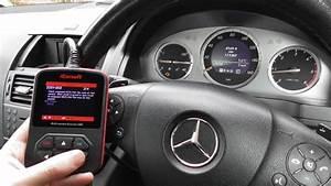 Mercedes C Class Check Engine Light Diagnose  U0026 Reset I980 W204