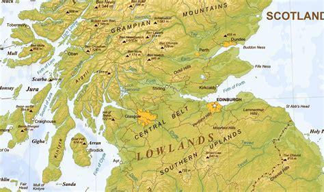Making A Map Of Scotland
