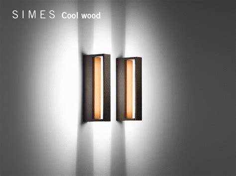 Applique Thun by Cool Wood Applique In Alluminio E Legno By Simes Design