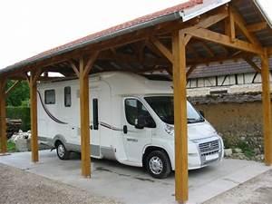 Abri Camping Car Bois : abri camping car bois n obois constructions ~ Dailycaller-alerts.com Idées de Décoration