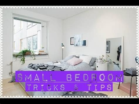 arrange  small bedroom diy tricks tips tiny
