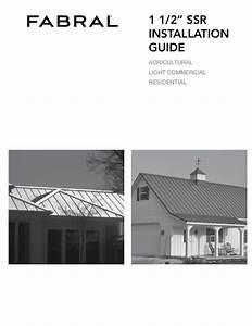 Agway Metal Roof Installation Instructions