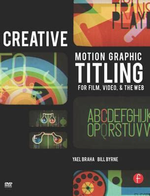 creative motion graphic titling  film video