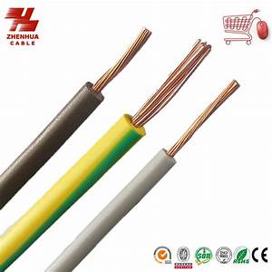 China Electrical Single Core Wire With Solid Copper Conductor Pvc Xlpe Insulated  Bv