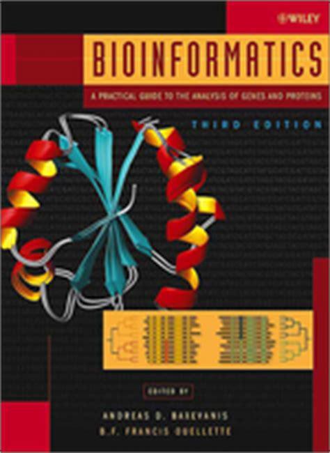 Introduction to Bioinformatics (book list ...