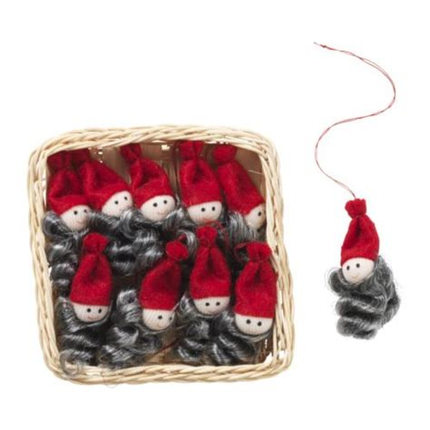 hand made ikea yrsno 10 hanging santa claus christmas