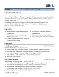 resume objective statement for business management best hospitality resume templates sles writing resume sle writing resume sle