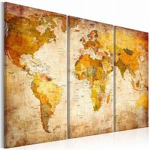 Alte Weltkarte Poster : top leinwand bilder xxl fertig aufgespannt bild deko weltkarte 020213 2 ebay ~ Markanthonyermac.com Haus und Dekorationen