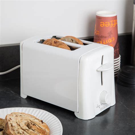 White Toaster by Proctor Silex 22611 2 Slice White Toaster