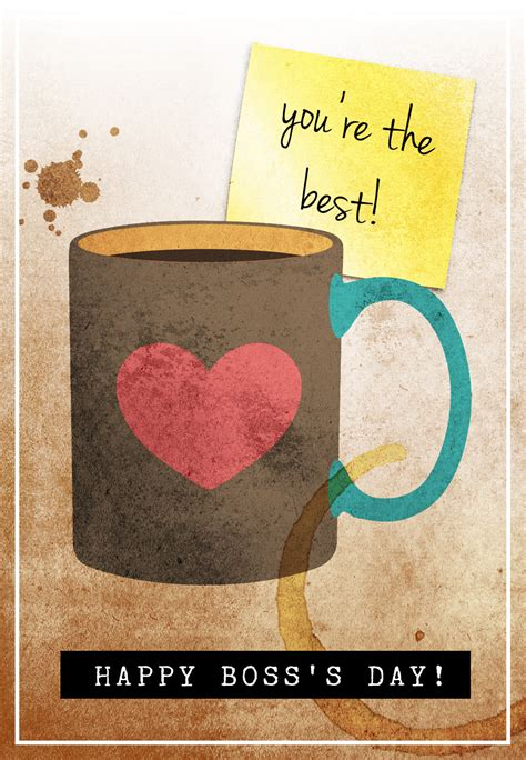 You Are The Best Boss Day Card (Free) Greetings Island