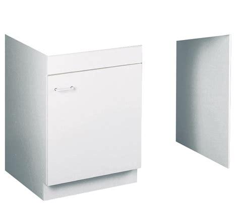 meuble bas 120cm hydrofuge avec jambage pour lave