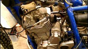 Suzuki Dr250 Update - Wiring Harness Modified