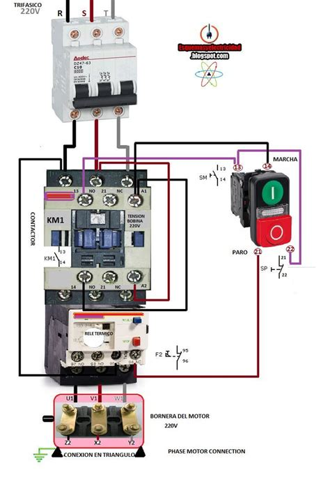 ac contactor wiring diagram ac blower motor wiring diagram furthermore 3 phase
