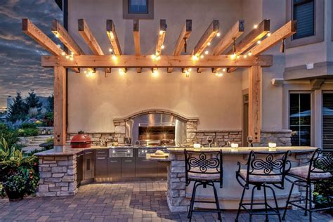 outdoor patio string lights let there be light pergola lighting and design ideas