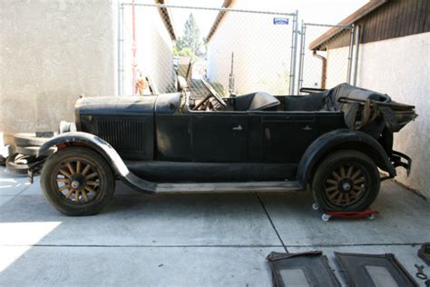 1927 Oldsmobile Touring Convertible Pheaton Barn Find 1928